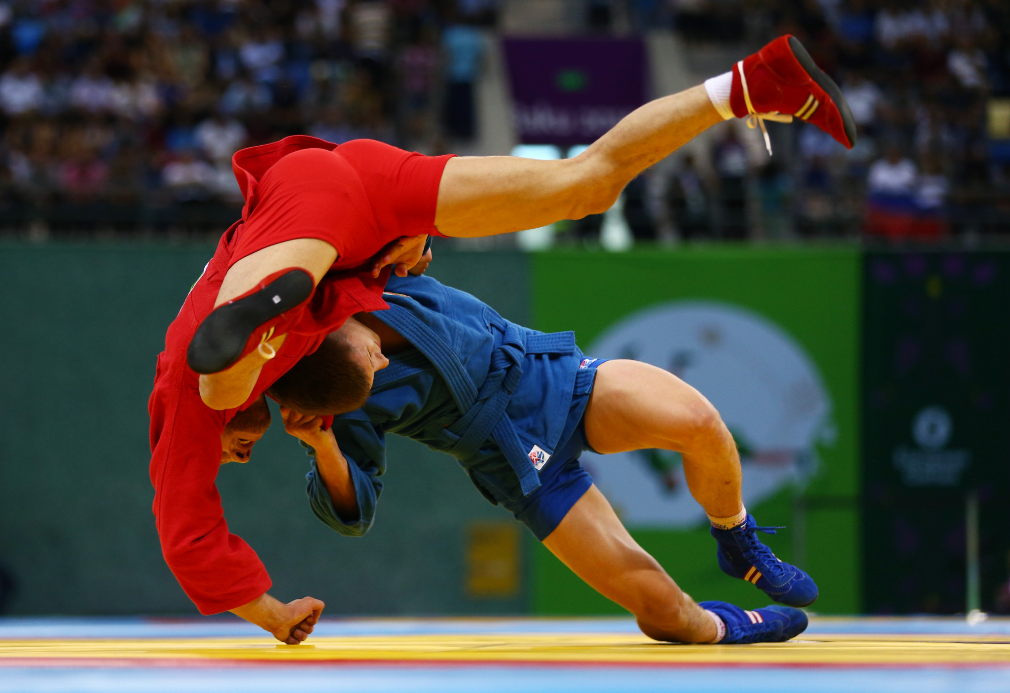The Sambo World Cup is set to be held in front a half-capacity crowd ©Getty Images