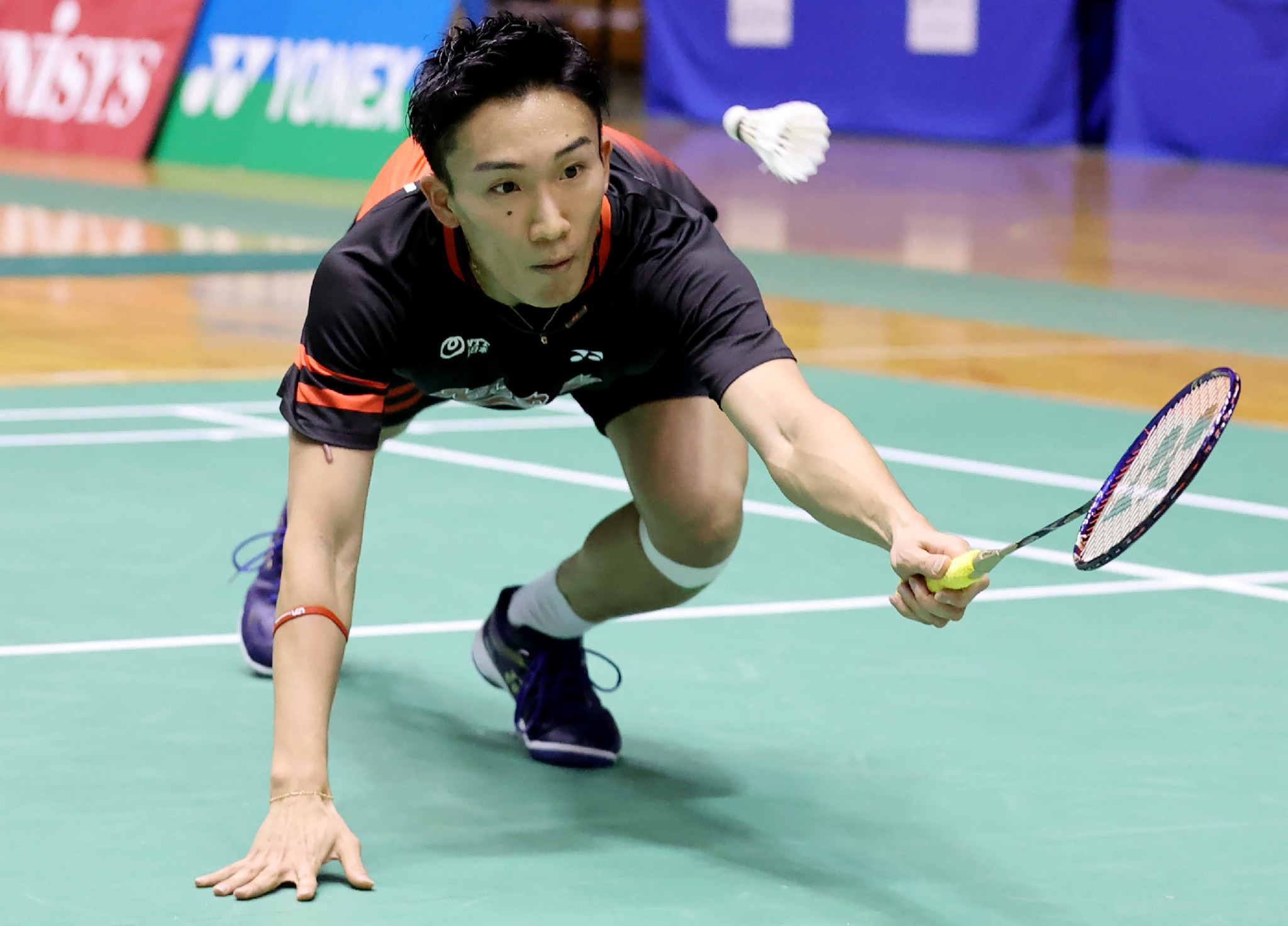 Japan's Kento Momota is set to return to action after recovering from coronavirus ©Getty Images
