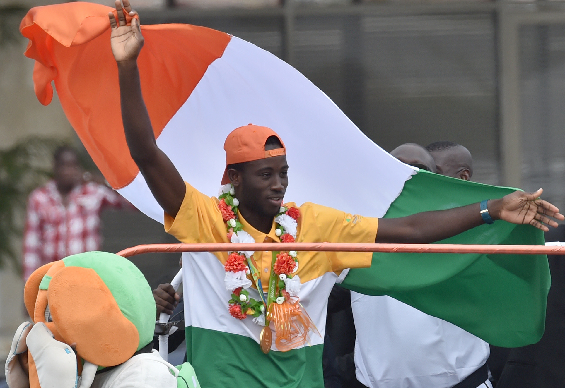Cheick Sallah Cissé won the Ivory Coast's first-ever Olympic gold medal ©Getty Images