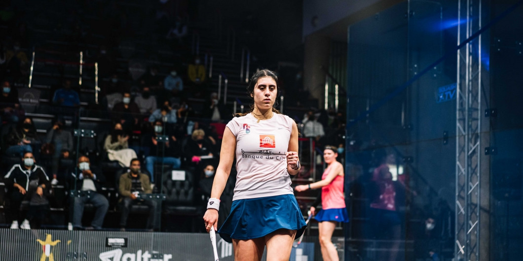 El Sherbini knocks out defending champion Perry at Black Ball Squash Open