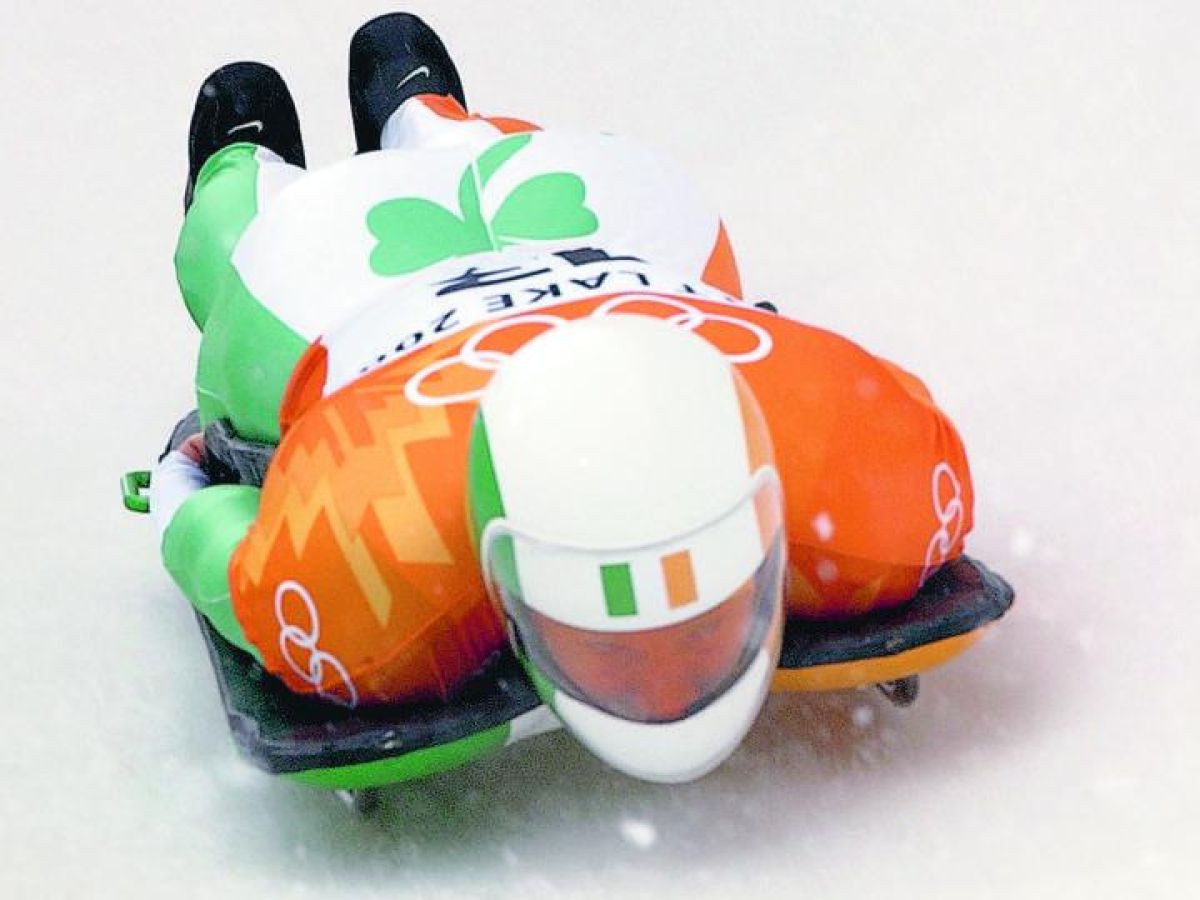 Clifton Wrottesley finished fourth in the skeleton at the 2002 Winter Olympic Games in Salt Lake City when he represented Ireland ©Getty Images
