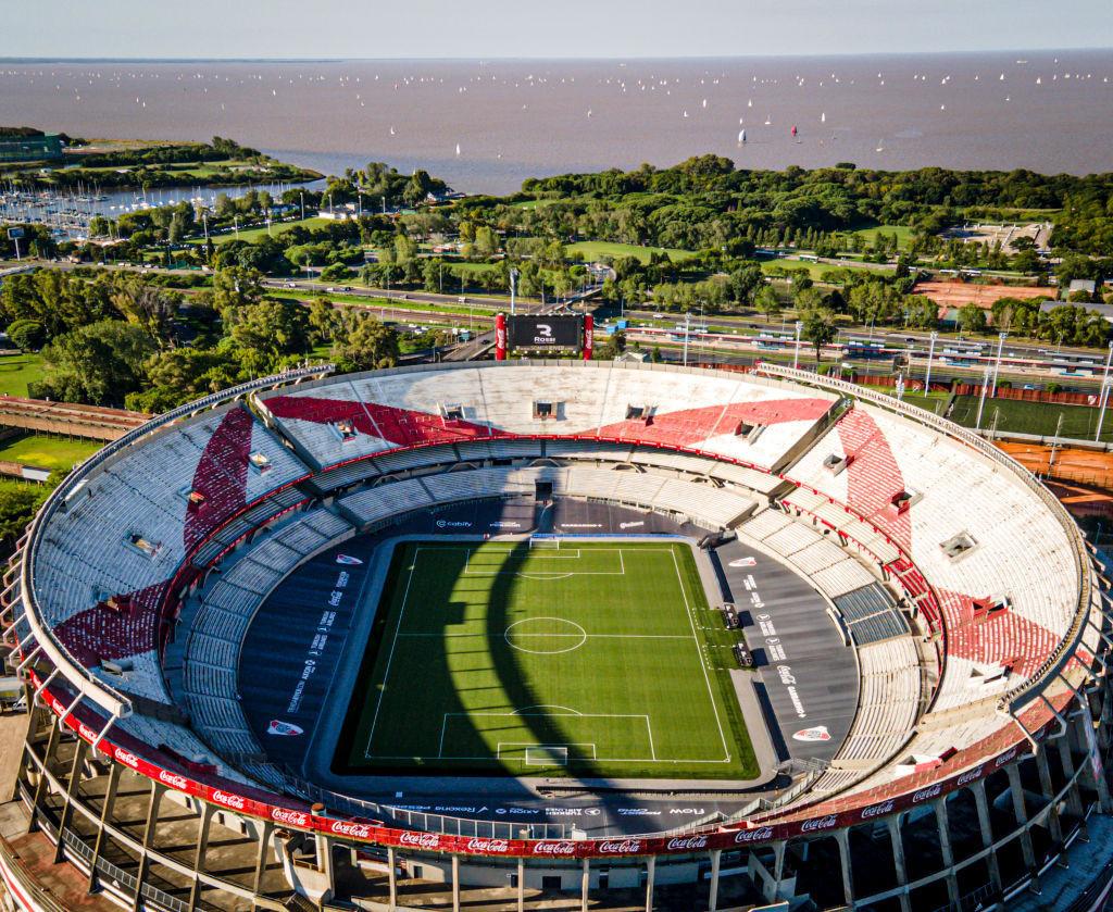 El Estadio Monumental de Buenos Aires albergará el partido inaugural entre Argentina y Chile © Getty Images