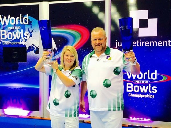 Burnett claims second title in two days at World Indoor Bowls Championships
