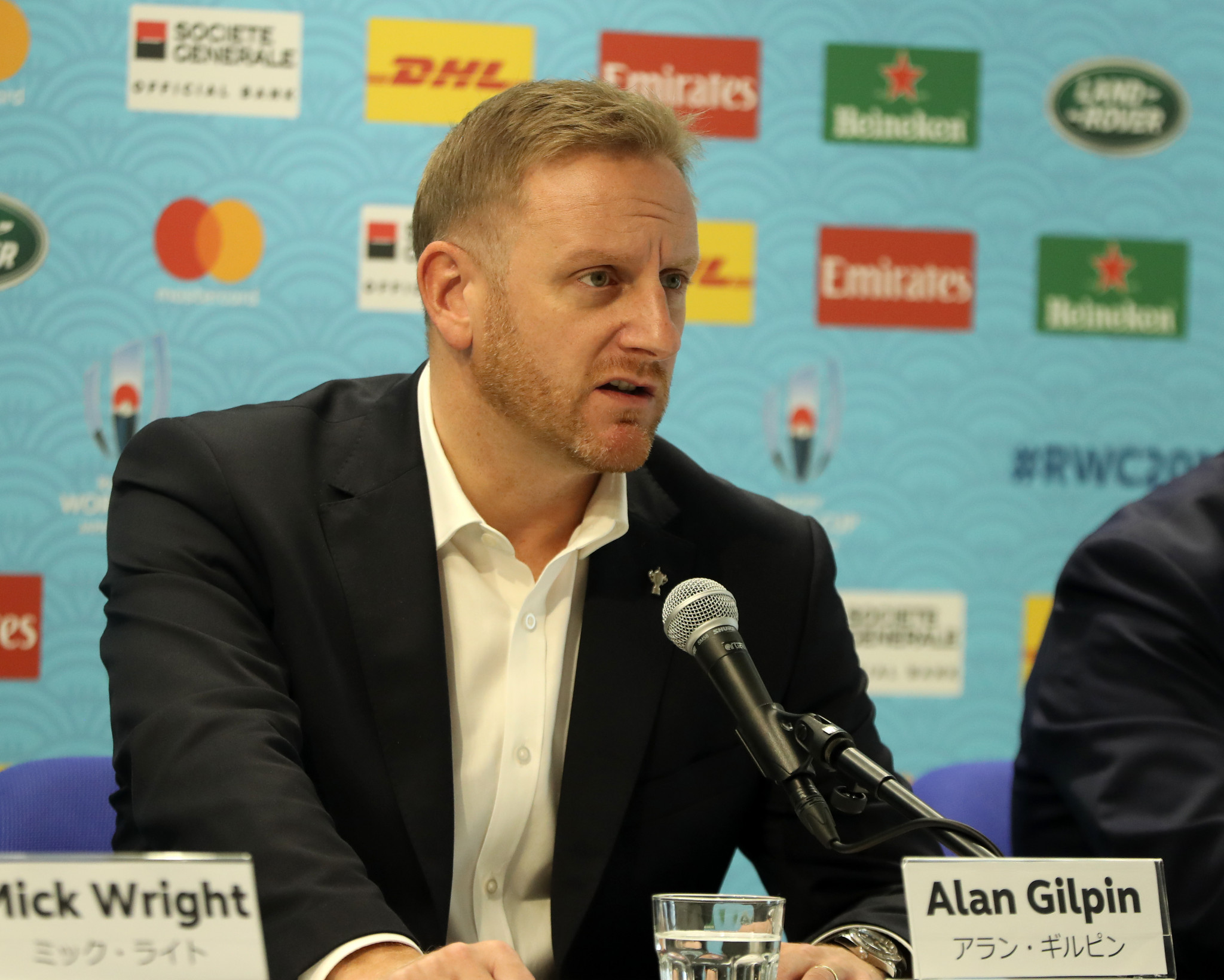 Gilpin appointed World Rugby chief executive on permanent basis