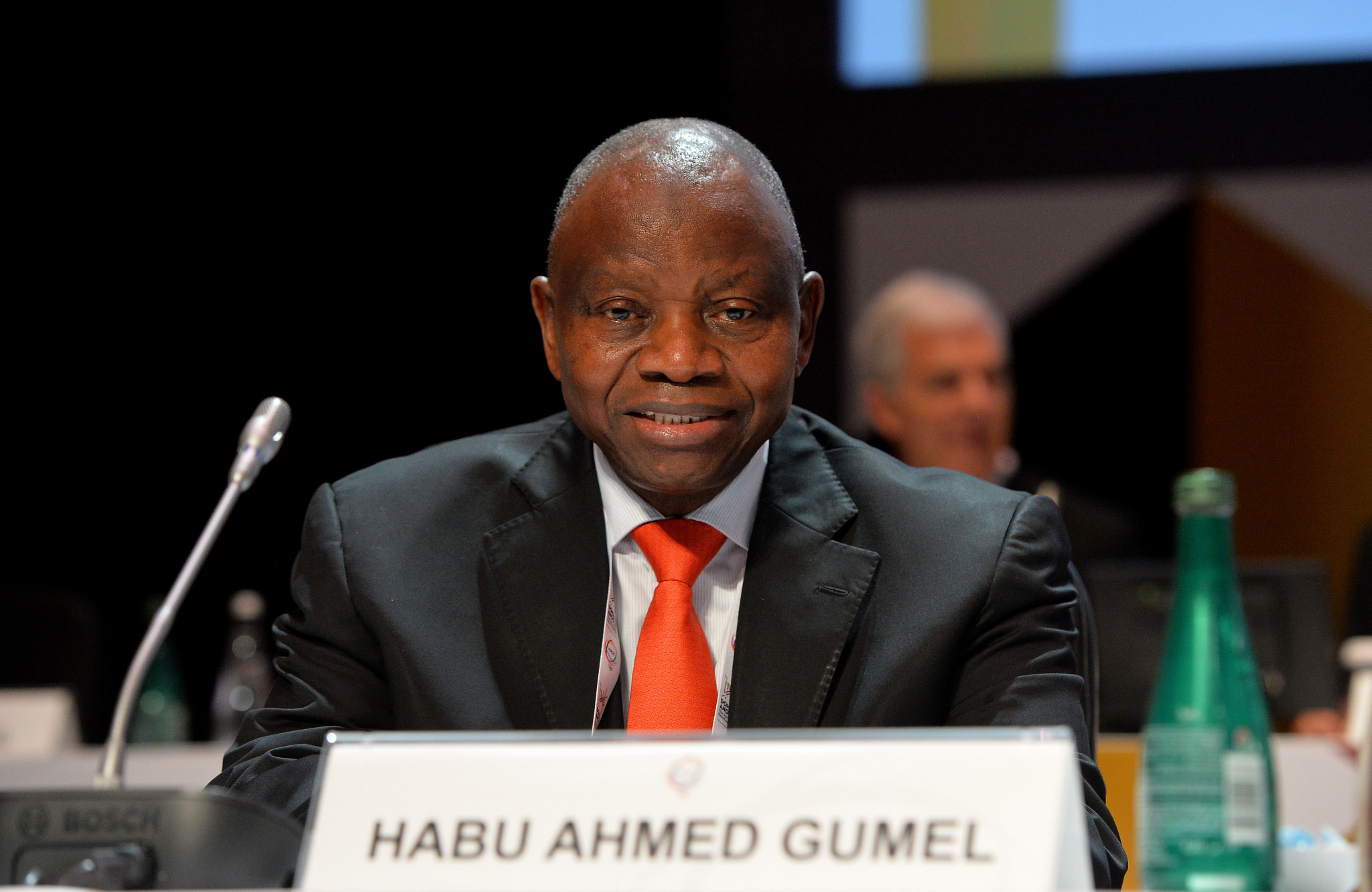 Habu Gumel, head of both the Nigeria Olympic Committee and Nigeria Teqball Federation, wants to develop the game in Africa ©Getty Images