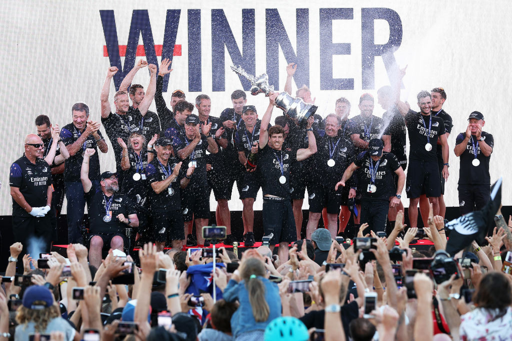 Ineos Team UK want single-challenger America's Cup at Isle of Wight next year