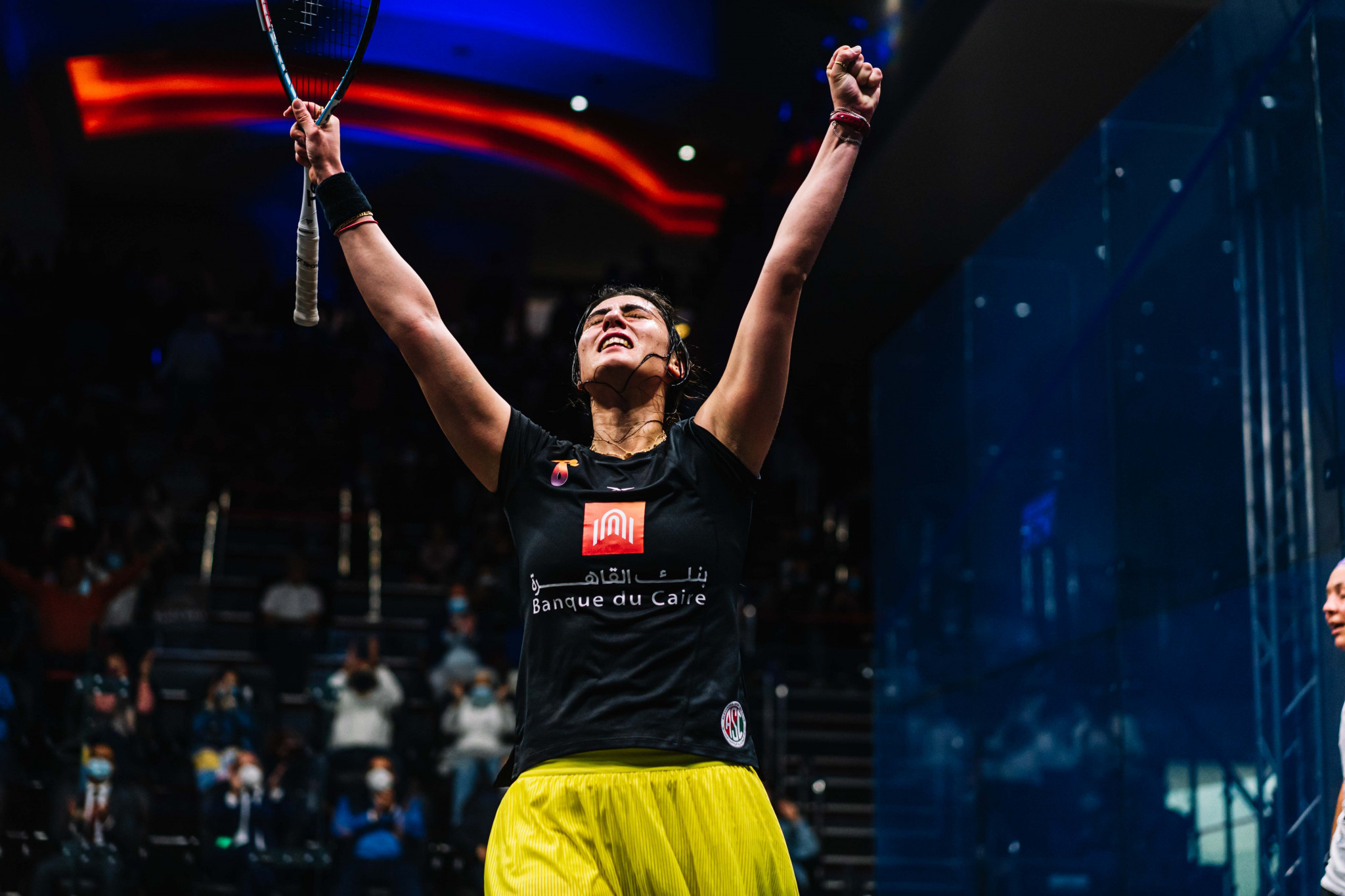 World number one El Sherbini wins women's CIB Black Ball Squash Open title after two runner-up finishes
