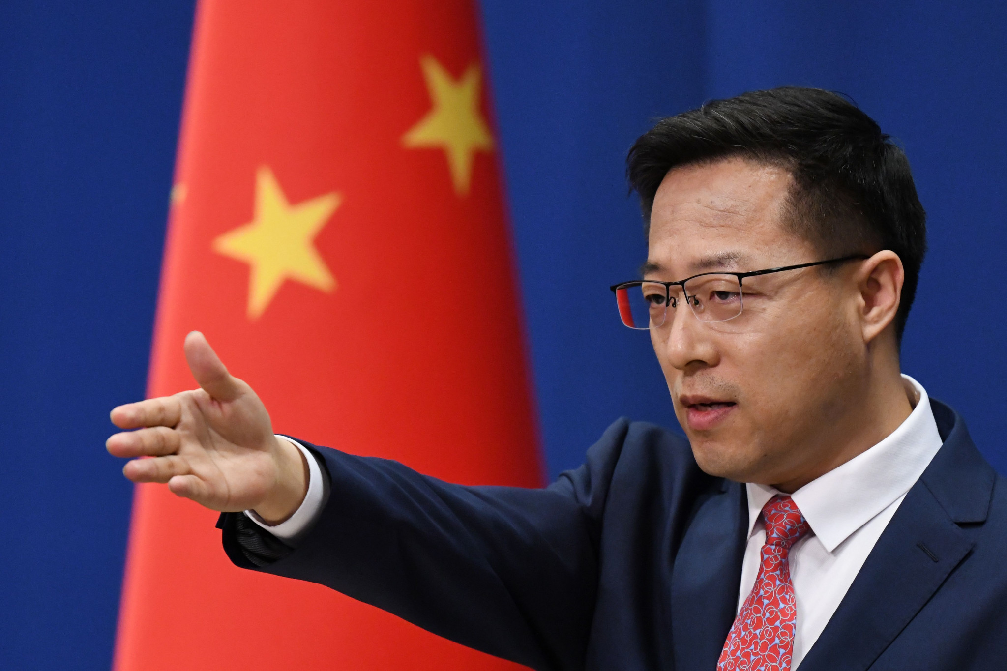 Chinese Foreign Ministry says international community against politicising sport ahead of US-China talks
