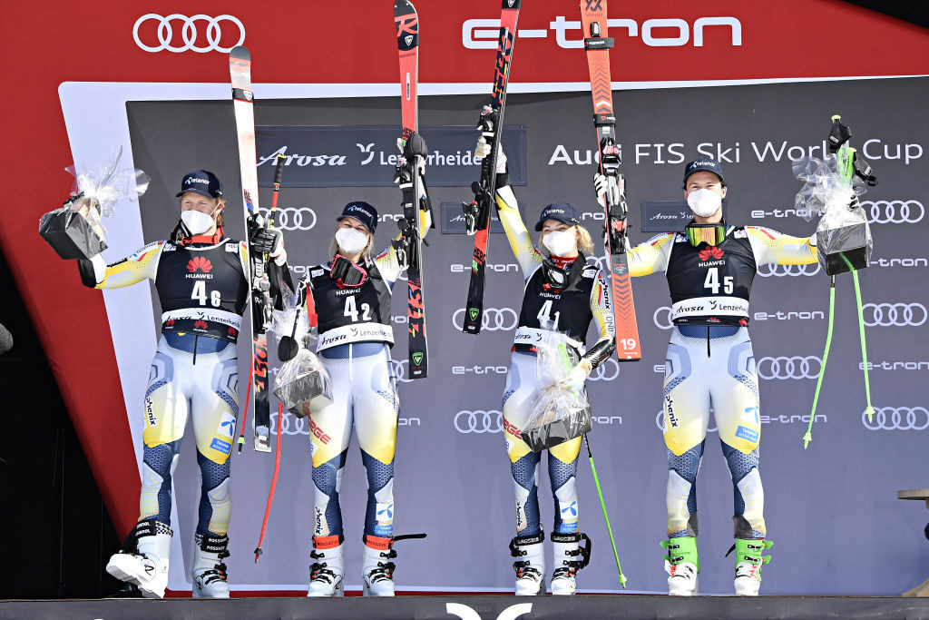 Norway win team parallel event as action begins at Alpine World Cup finals