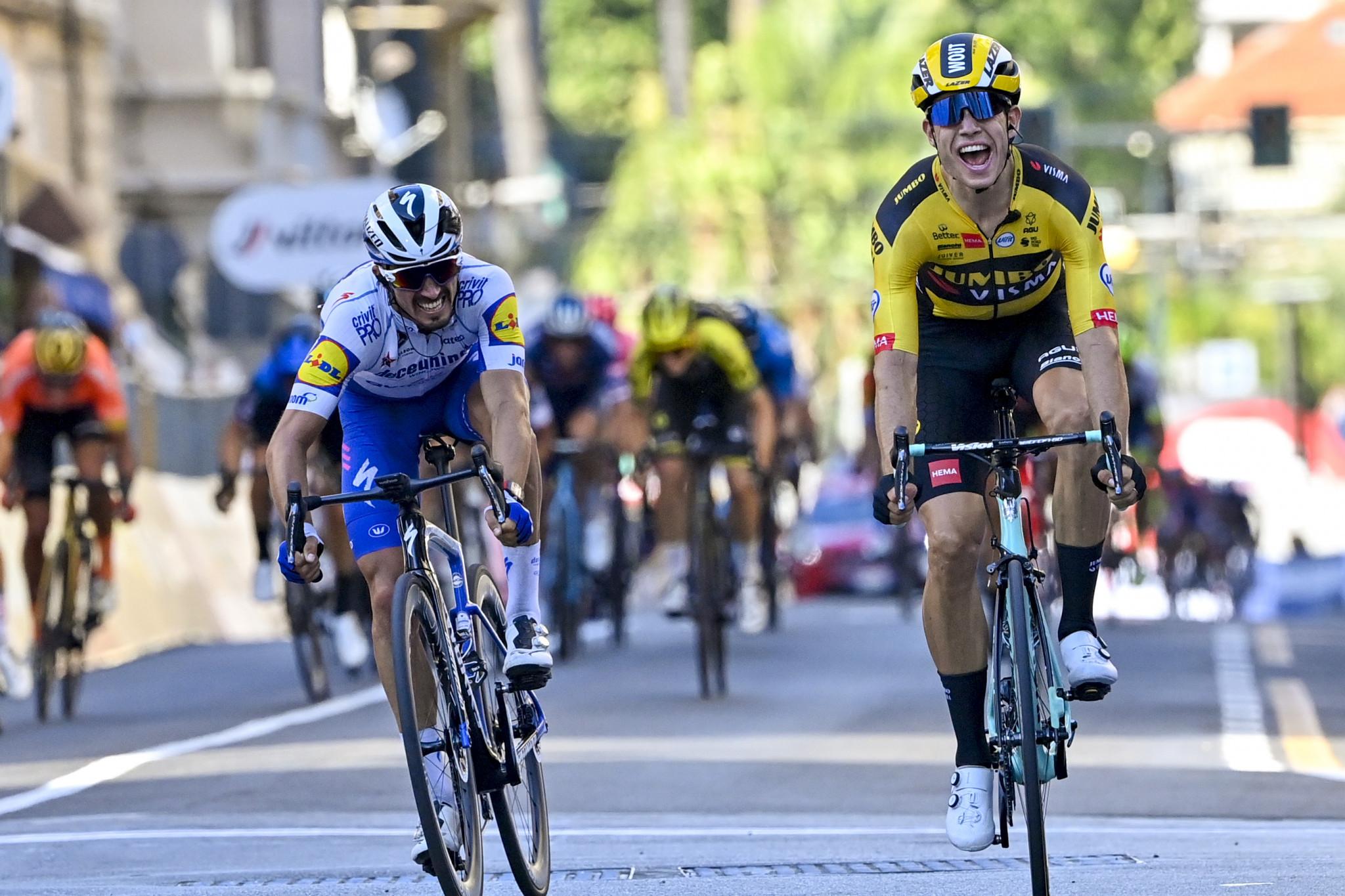 Defending champion Van Aert among favourites at Milan-San Remo