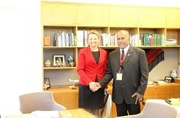 Fiji Sports Minister meets Australian counterpart to discuss launch of Fiji National Sports Academy