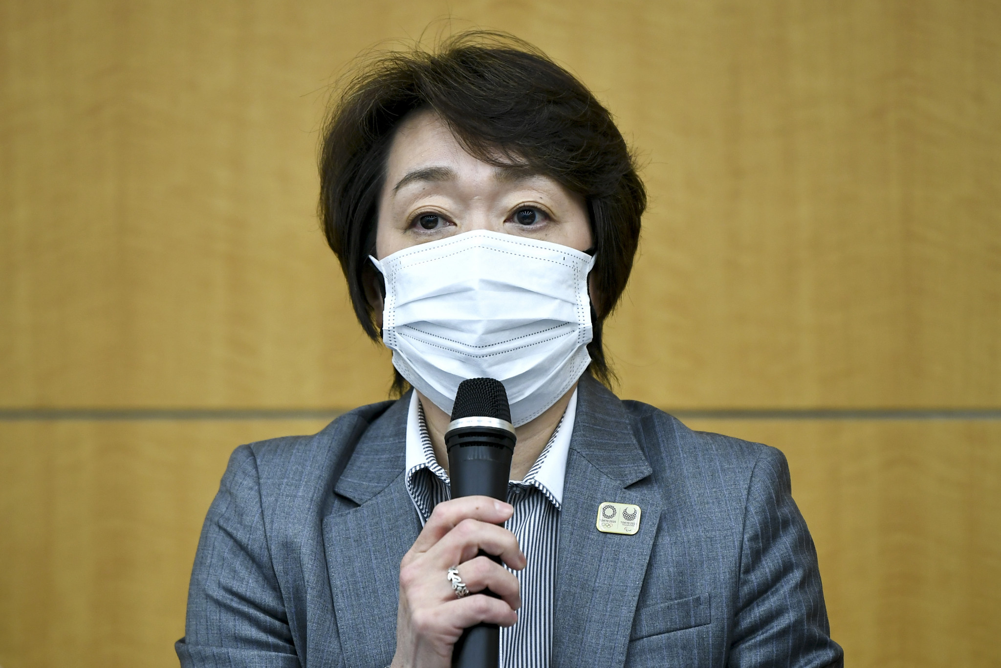Tokyo 2020 President Seiko Hashimoto is expected to announce tomorrow that international spectators will be banned from the Olympic Games ©Getty Images
