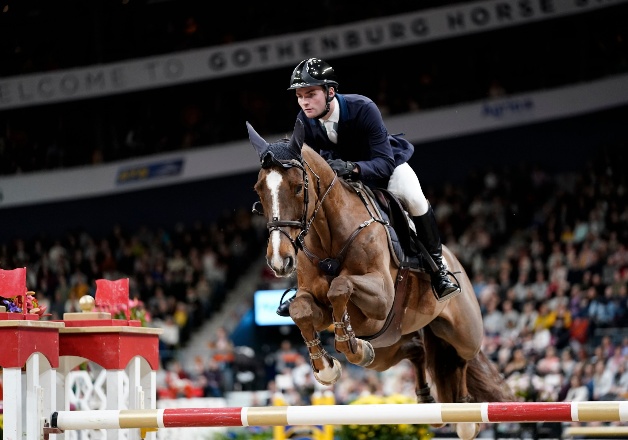 Gothenburg was set to host the FEI Jumping and Dressage World Cup Finals before the EHV-1 outbreak ©Getty Images
