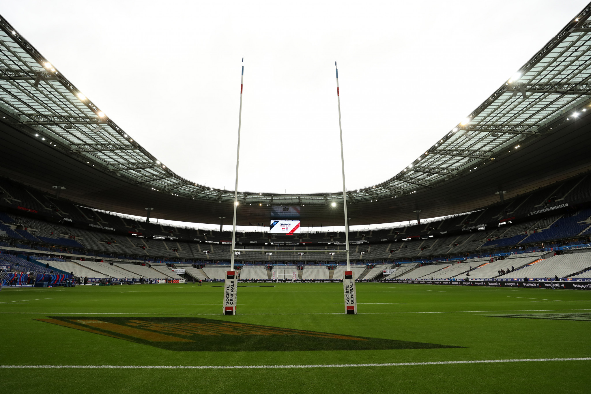 Stade de France expected to become COVID-19 vaccination centre in April