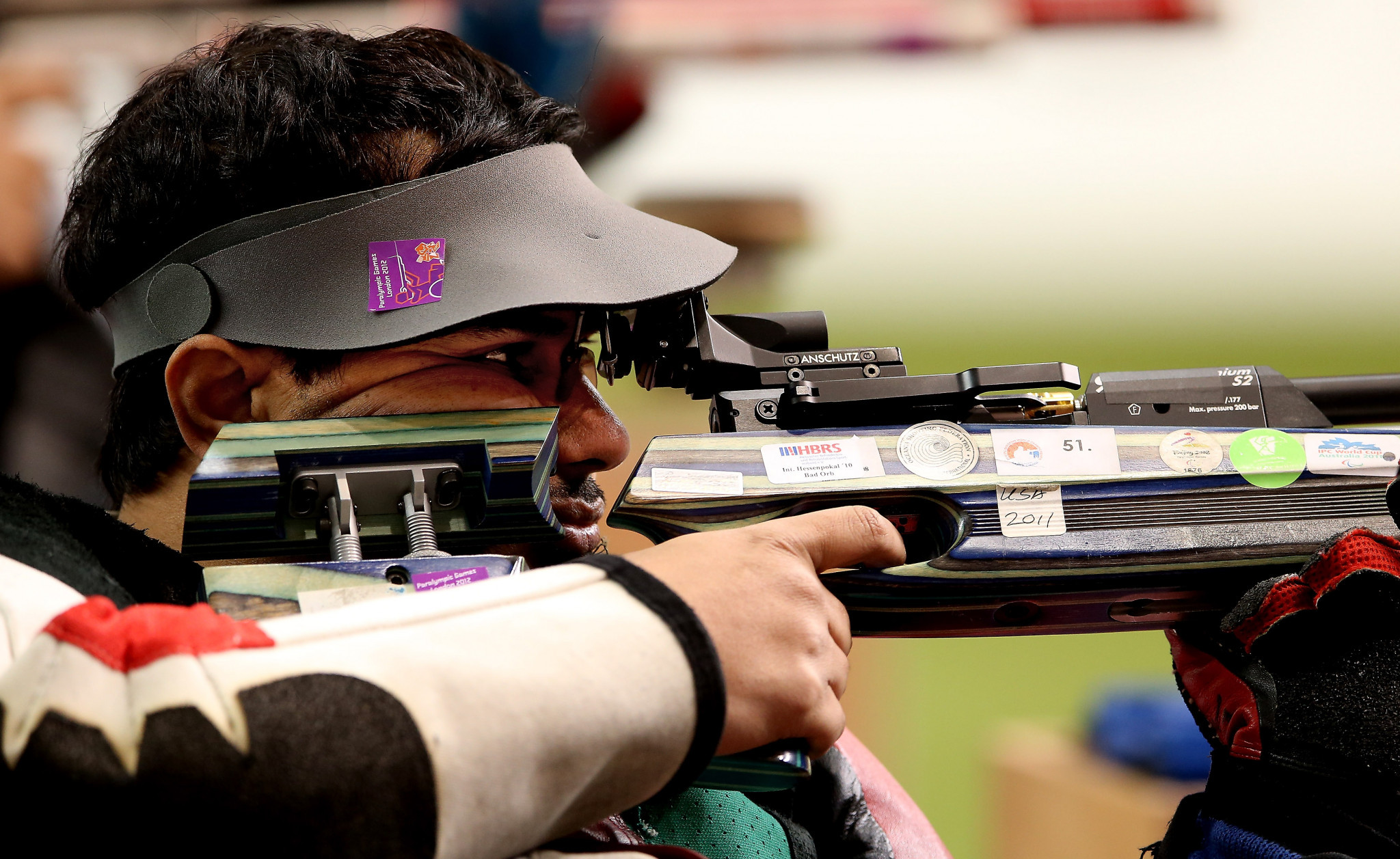 UAE claim another home gold on day three of World Shooting Para Sport World Cup