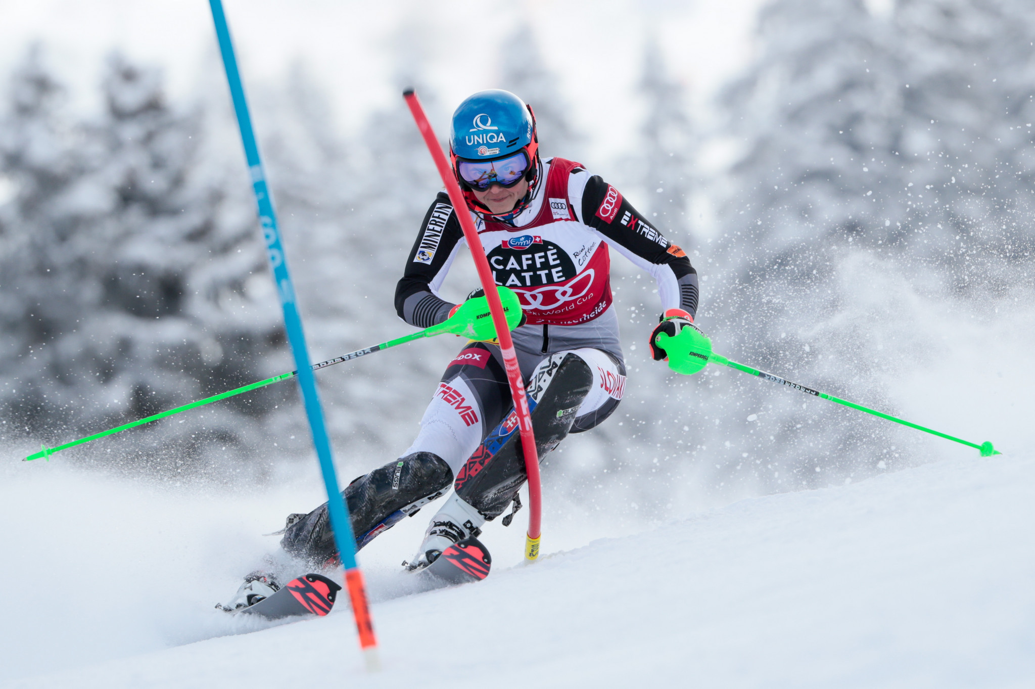 Petra Vlhová became the first Slovakian to win the overall FIS Alpine Ski World Cup crown ©Getty Images