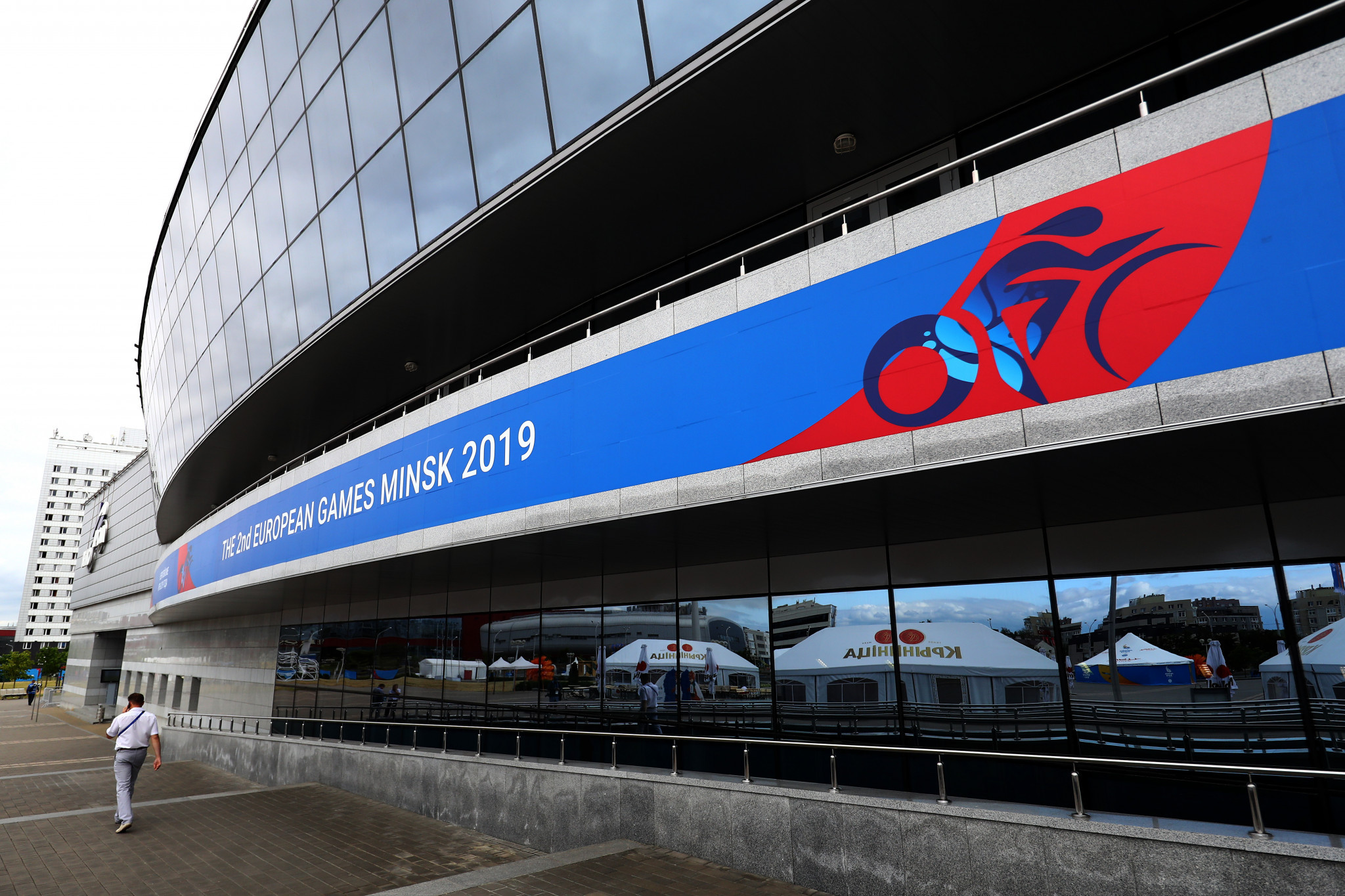 The Minsk Arena hosted track cycling competition at the European Games in 2019 ©Getty Images