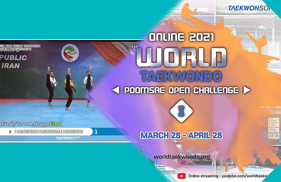 First Online World Taekwondo Poomsae Open Challenge offers worldwide practice opportunity