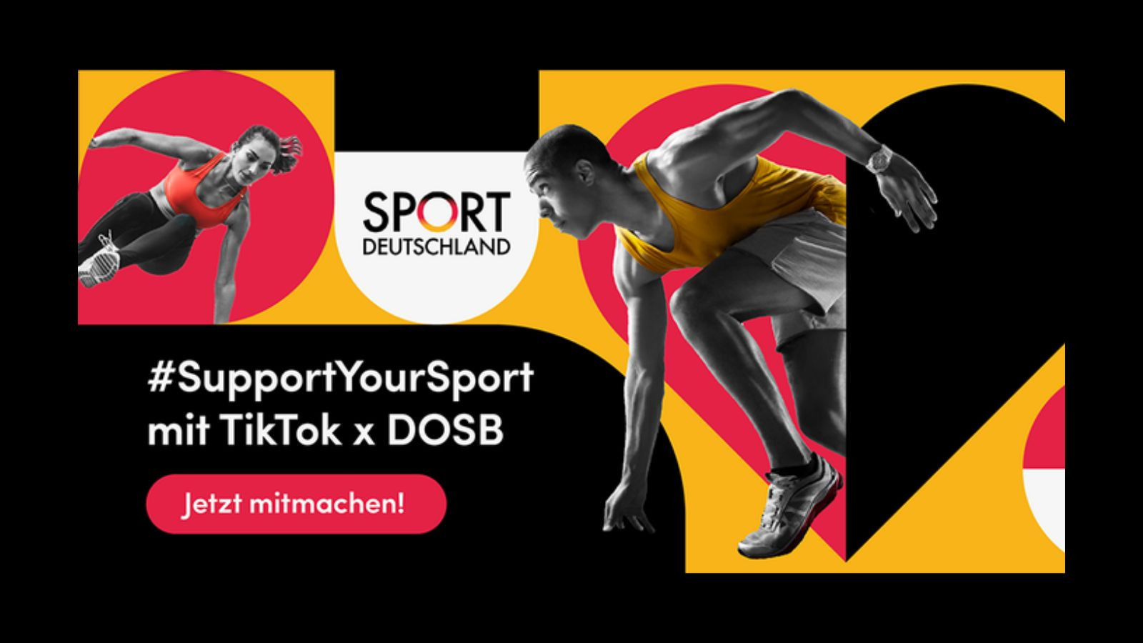 DOSB fundraising campaign with TikTok raises €100,000 for clubs
