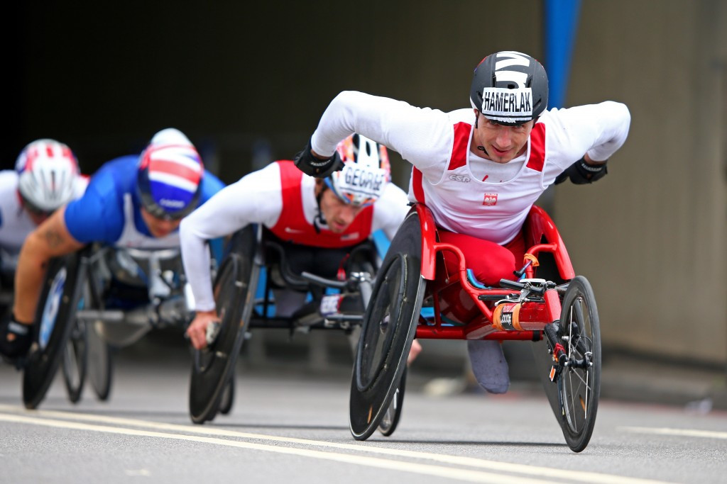 Polish wheelchair racer Hamerlak hit with four-year doping ban