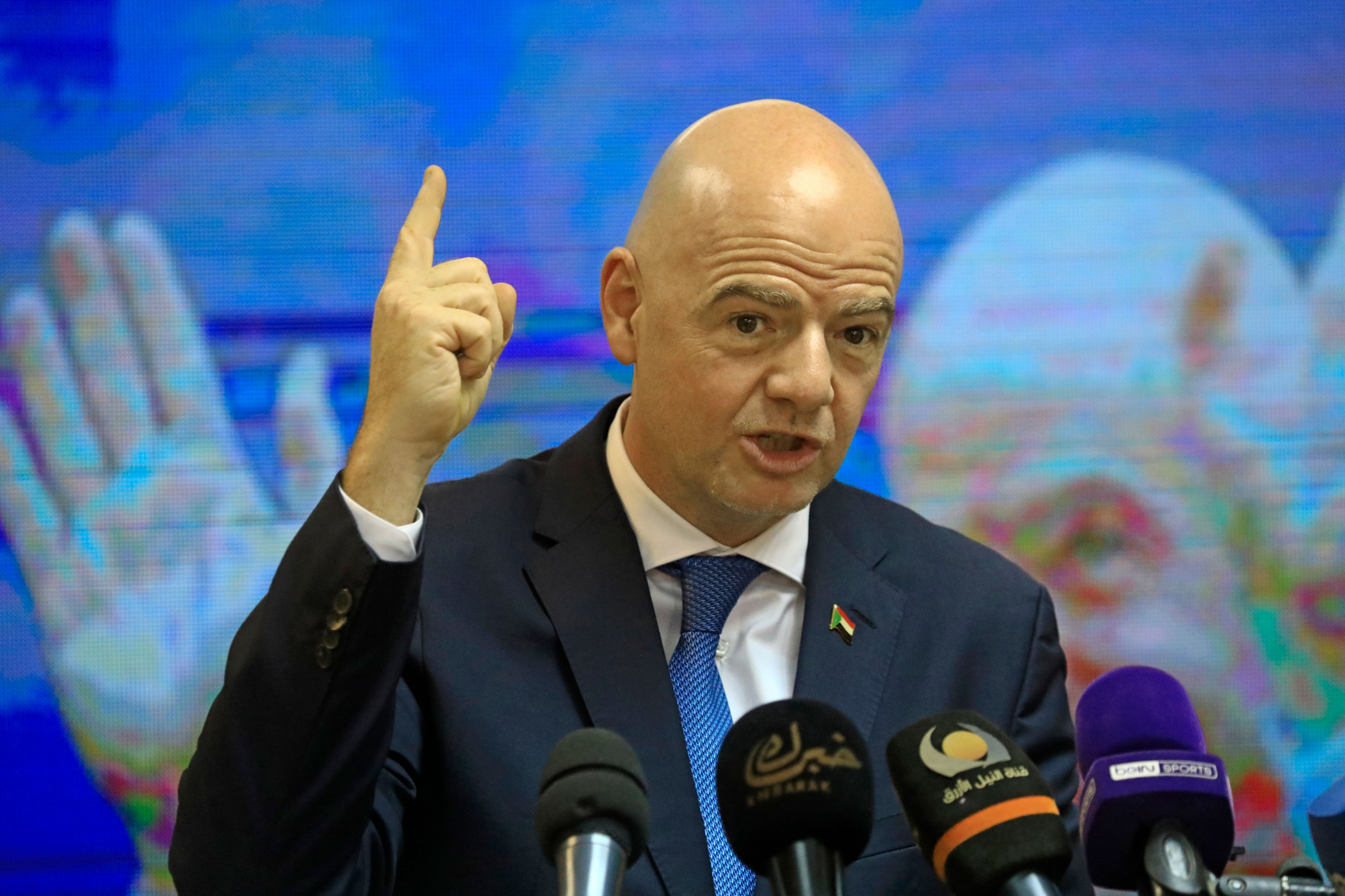 FIFA President Infantino addresses reforms to tackle corruption at G20