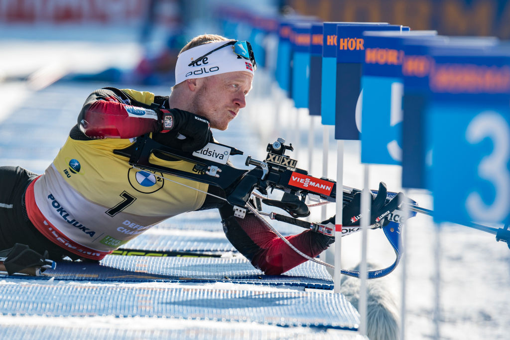 Thingnes Bø holds off Lægreid to earn third consecutive Biathlon World Cup title in Östersund