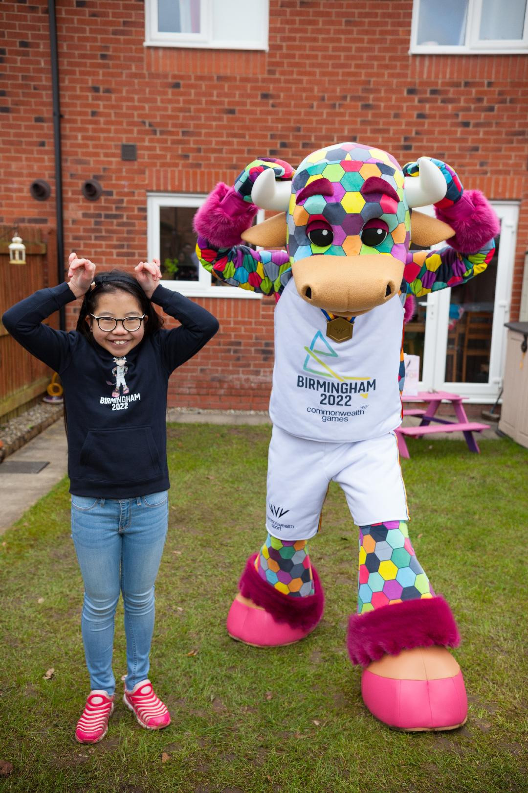 Perry was designed by Emma Lou, a 10-year-old schoolgirl in Bolton ©Birmingham 2022