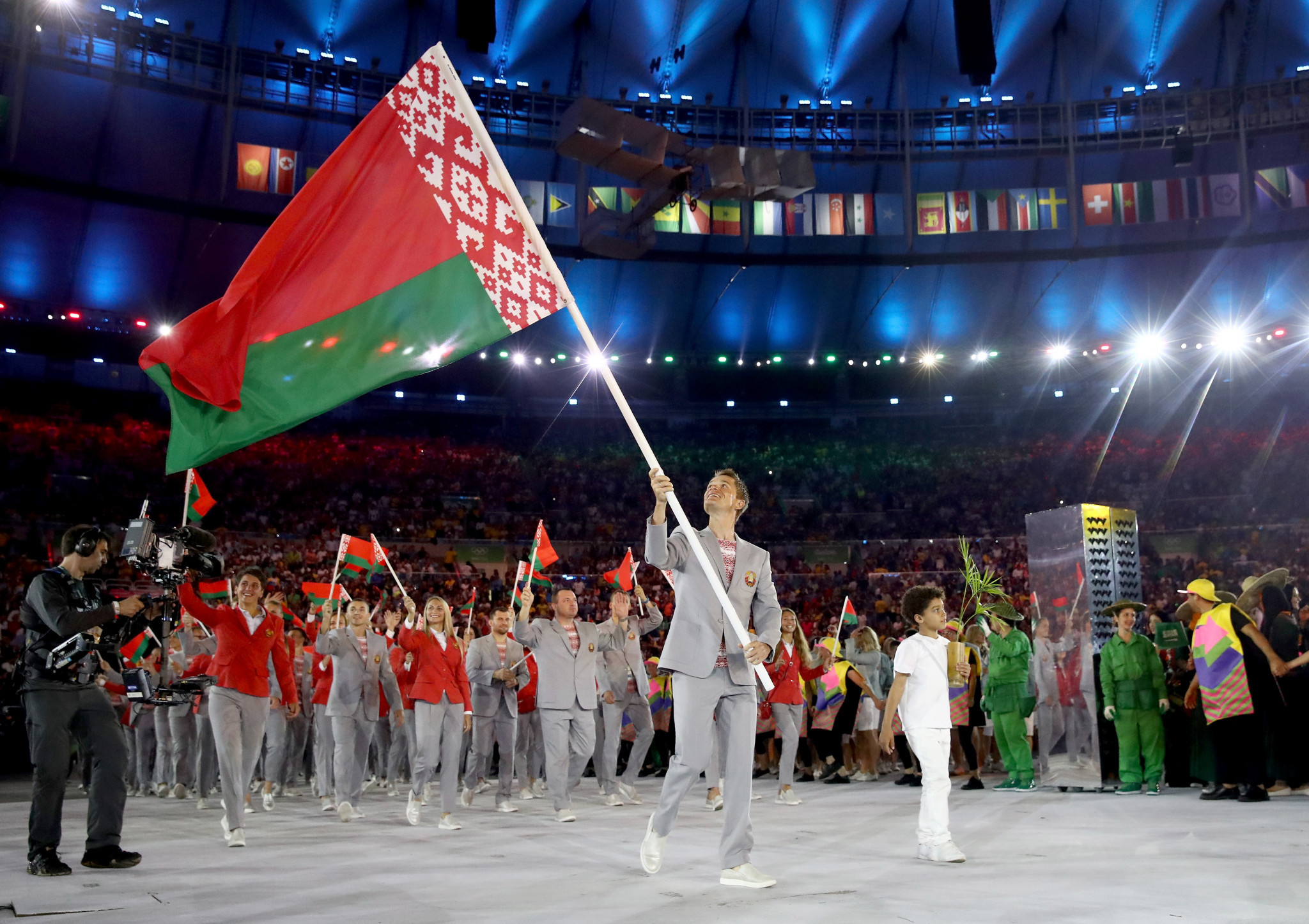 Forcing Belarus to compete under a neutral flag remains an option for the IOC should it choose to enforce further sanctions ©Getty Images