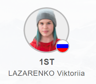 Lazarenko follows up silver with gold at the Freestyle Ski World Junior Championships in Krasnoyarsk