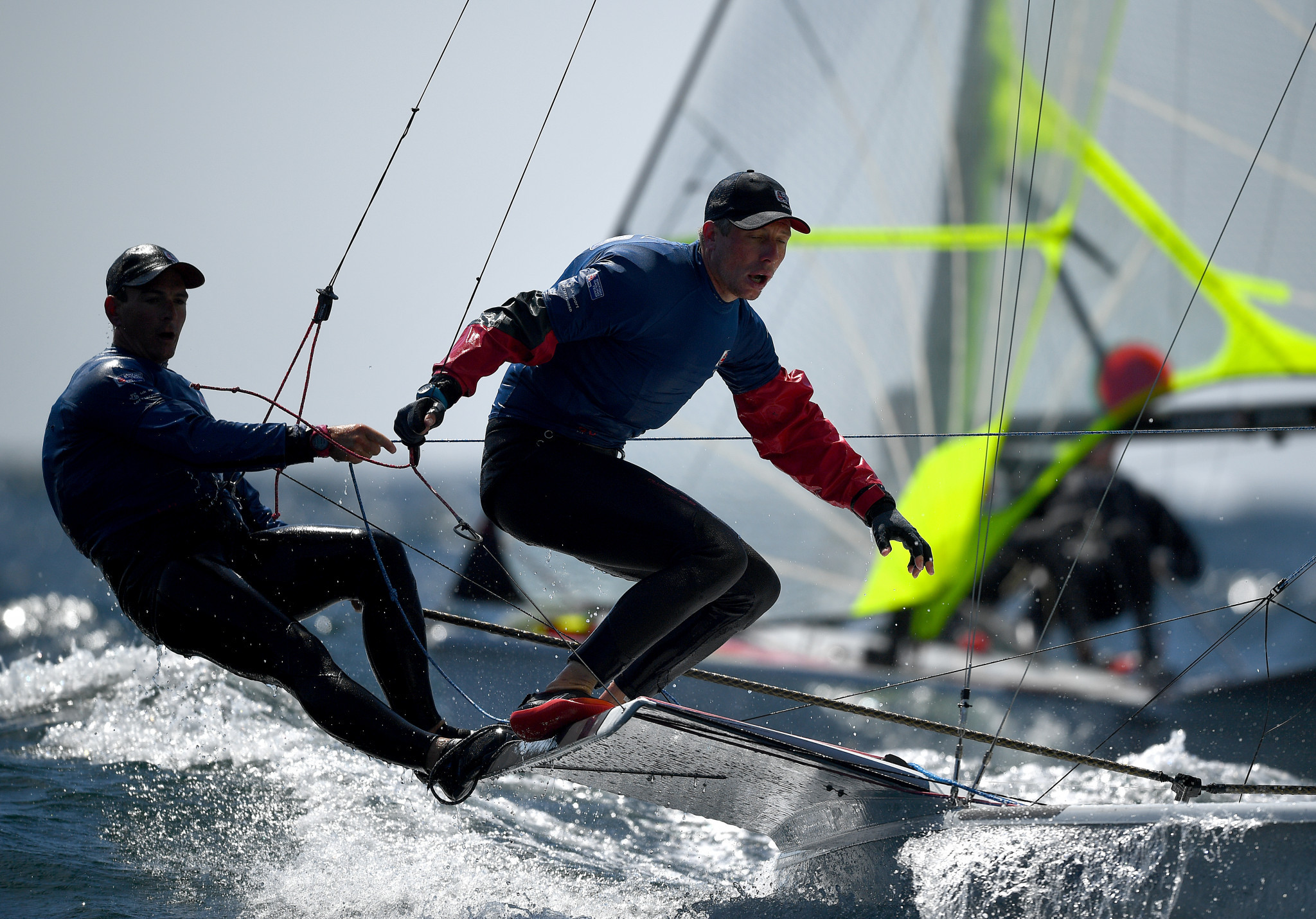 Britons take 49er lead in Olympic qualifier in Lanzarote
