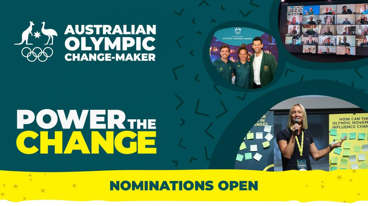 Australian Olympic Committee relaunch programme to find inspiring young sports leaders