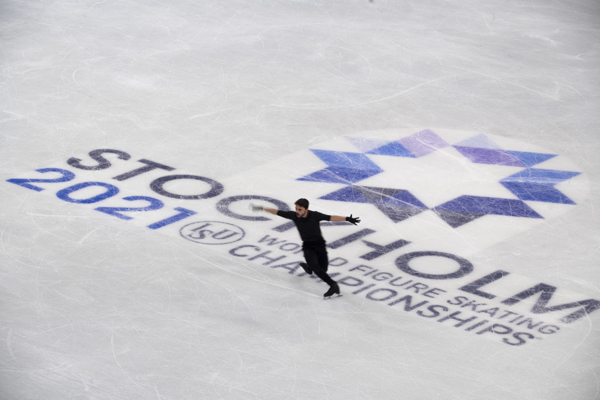 The ISU faced criticism over the strength of its COVID-19 protocols ahead of the World Figure Skating Championships ©Getty Images