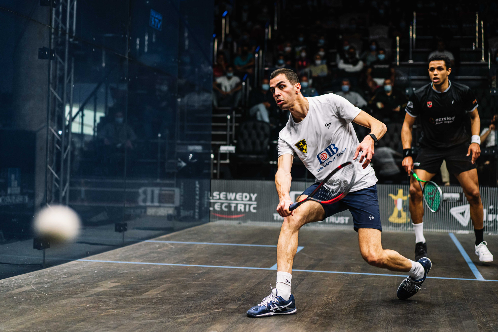 Top seed Farag comes from game down to beat compatriot Asal at PSA Black Ball Squash Open