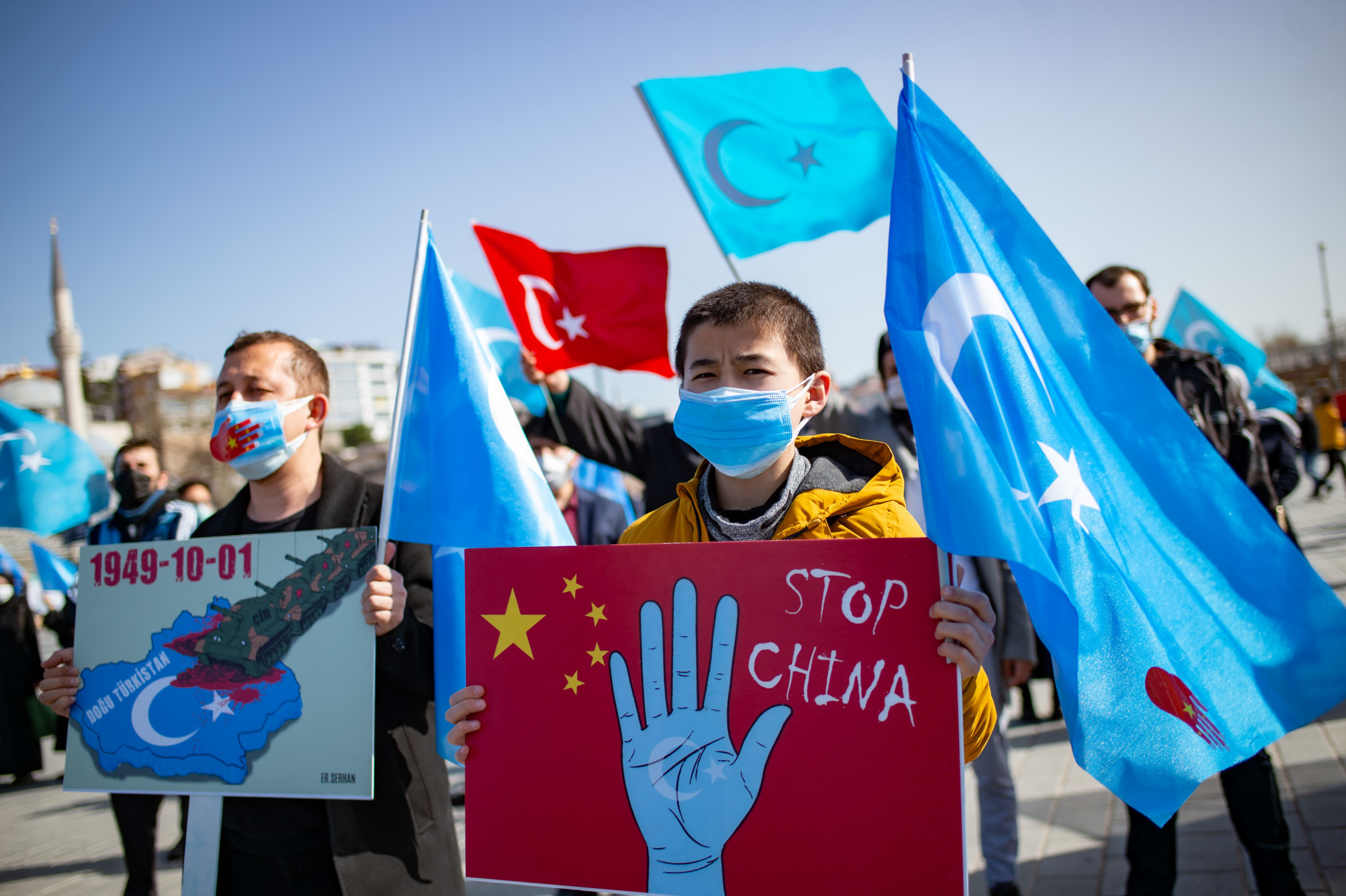 Chinese officials sanctioned over alleged human rights abuses of Uyghur Muslims as Beijing 2022 approaches