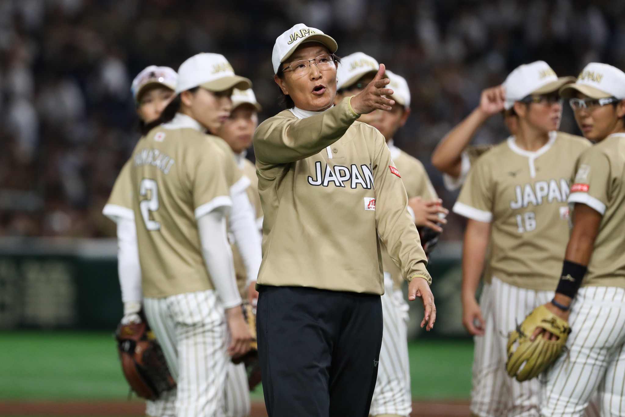 Three Beijing 2008 champions in Japanese softball squad for Tokyo 2020