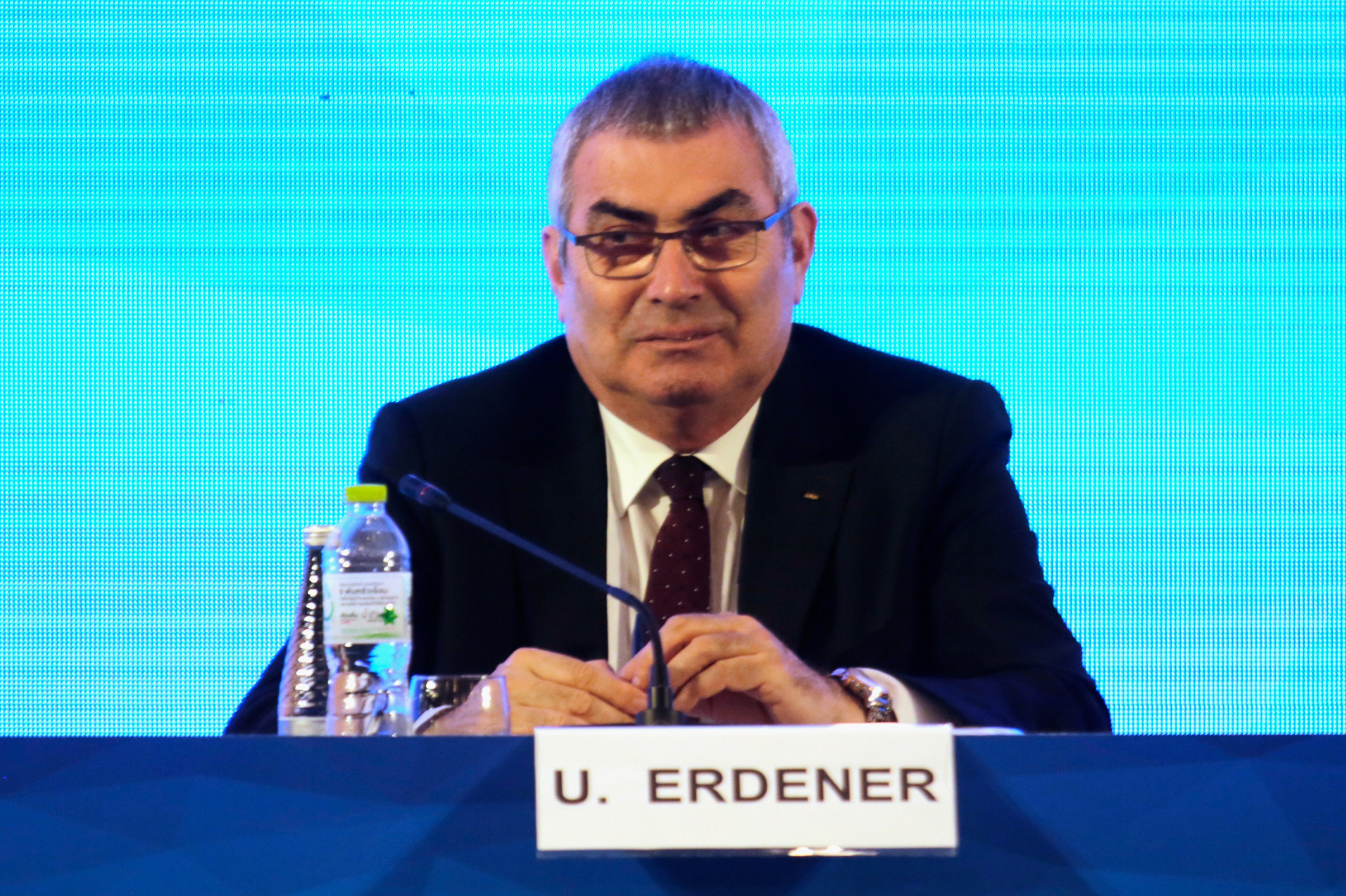 Uğur Erdener is the current World Archery President ©Getty Images