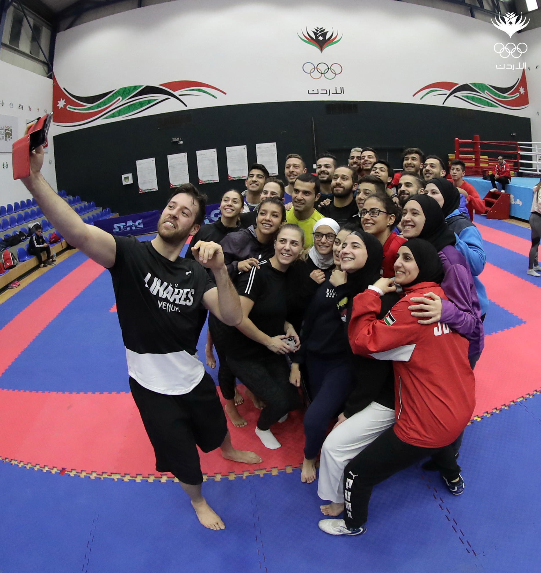 Engaging with youngsters via social media is a vital part of the Jordan Olympic Committee's strategy ©JOC