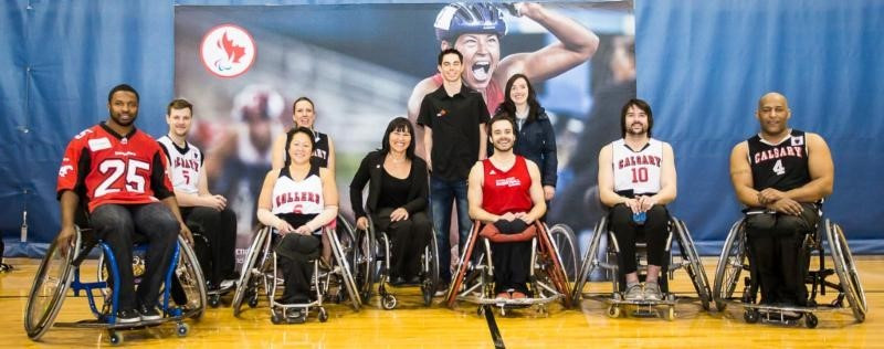 Petitclerc continues Rio 2016 tour of Canada with stop-off in Calgary
