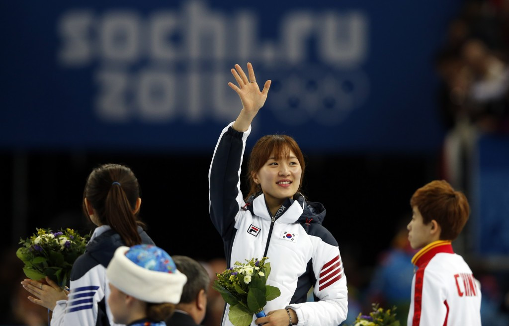 Seung-hi Park won the 1000m gold medal at the Sochi 2014 Winter Olympic Games
