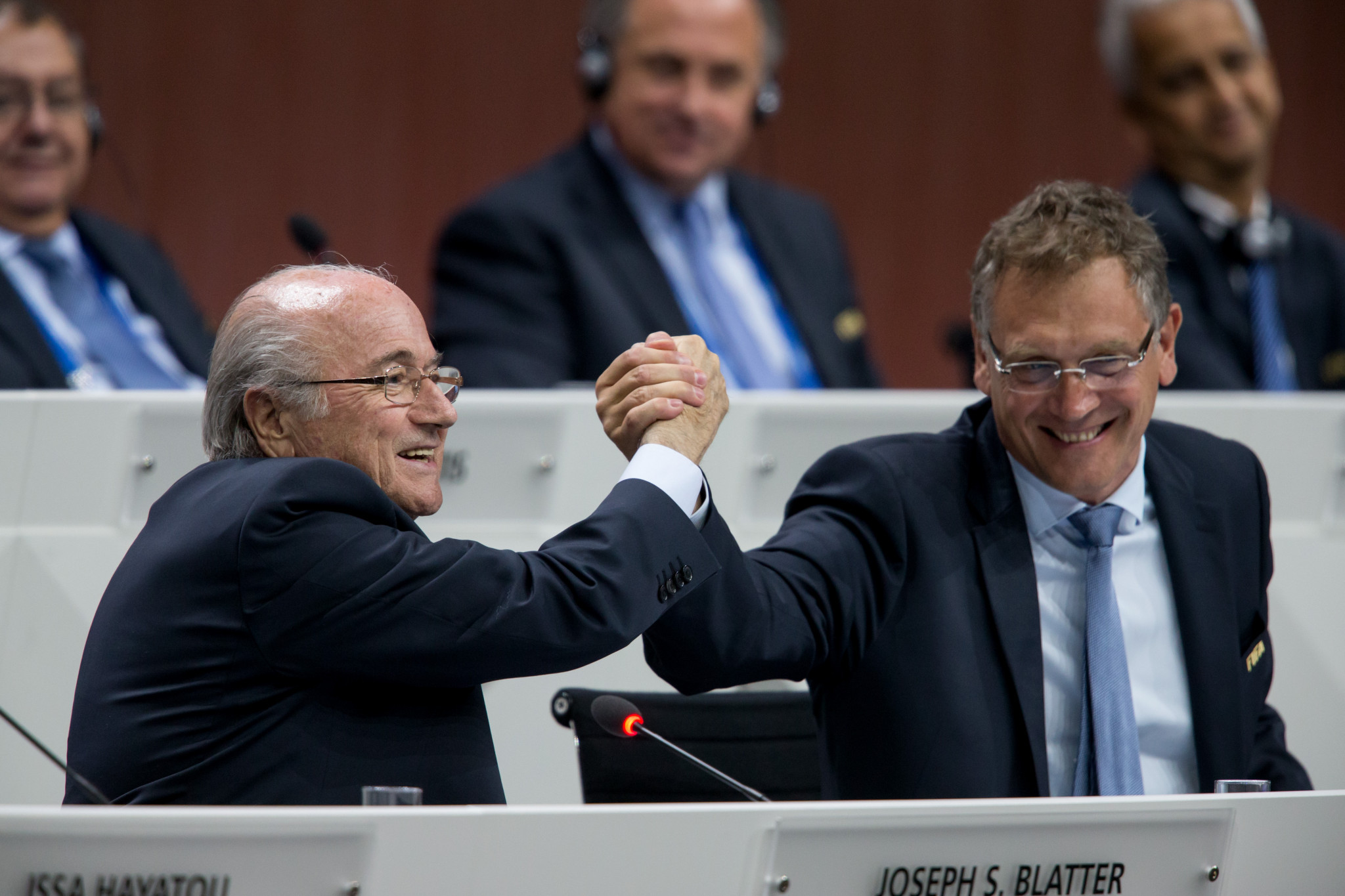 Sepp Blatter and Jérôme Valcke have between them now been banned from football for more than 29 years  ©Getty Images
