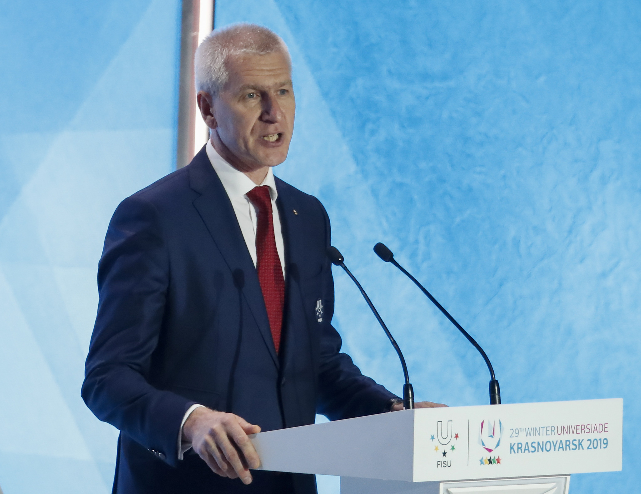Oleg Matytsin is expected to resume his role as FISU President in December 2022, after stepping aside temporarily ©Getty Images