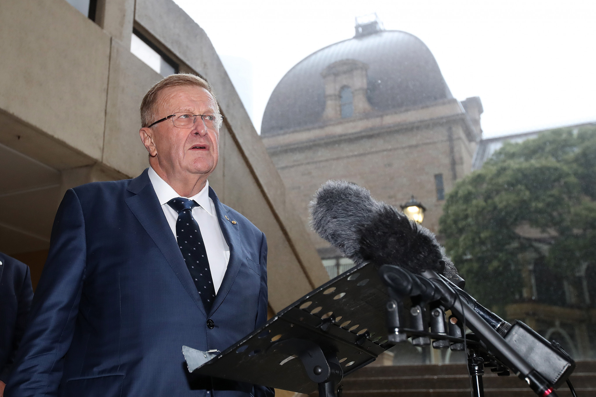 "Australian Olympic Committee President John Coates has claimed ""it is not a done deal"" that Brisbane will be awarded the 2032 Olympic and Paralympic Games ©Getty Images"