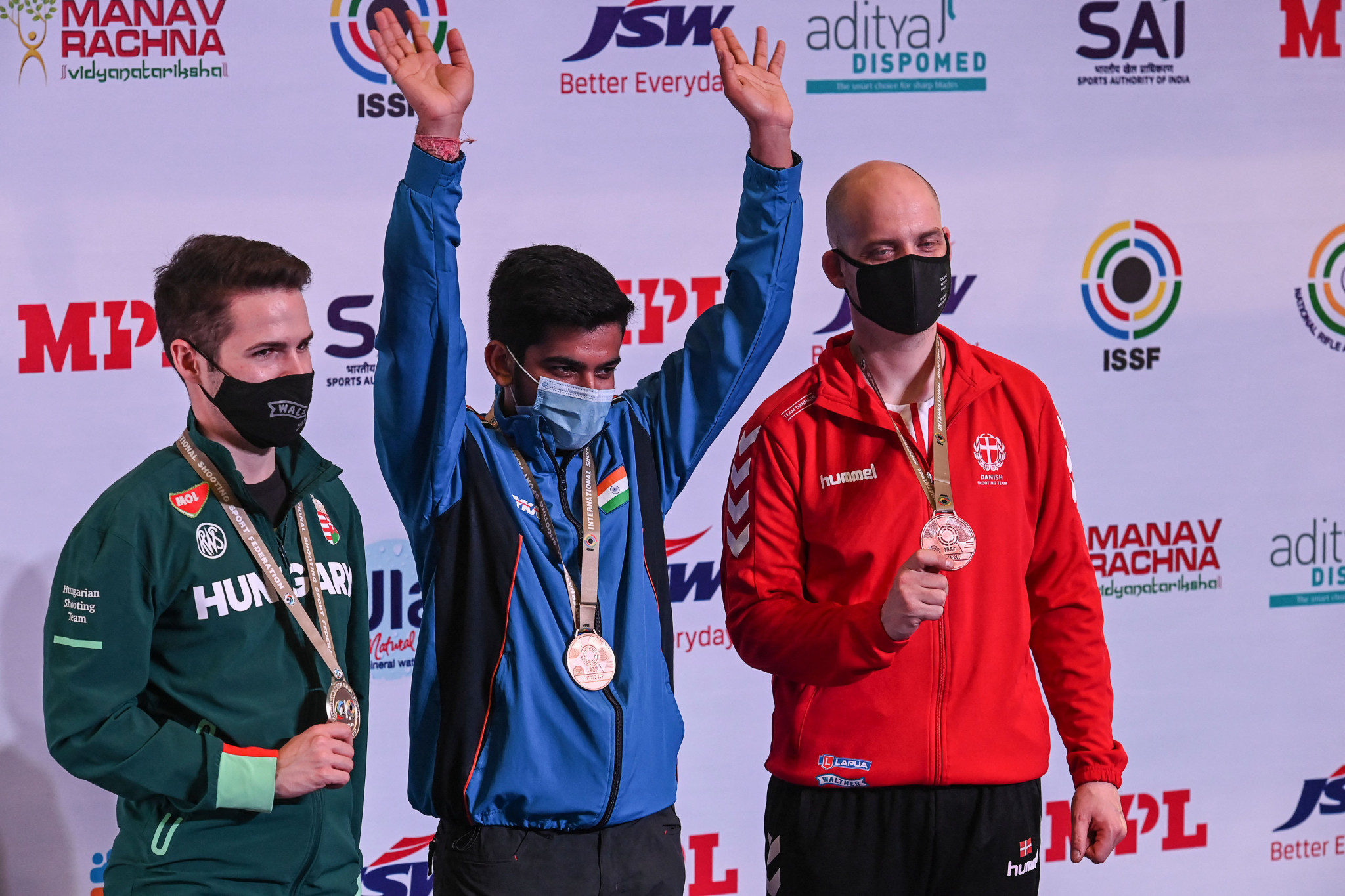 Singh wins home gold for India at New Delhi ISSF World Cup