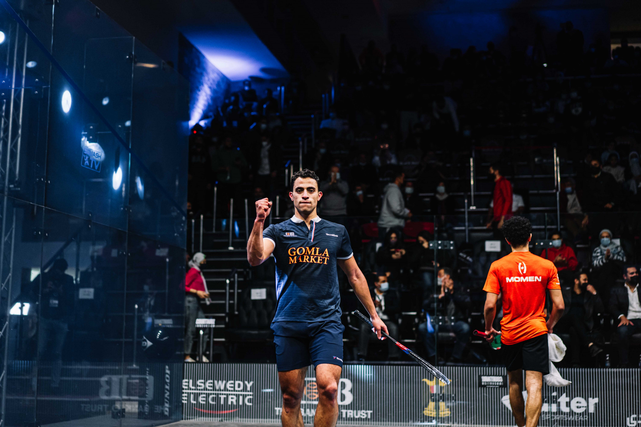 Defending champion Dessouky to face ElShorbagy in Black Ball Squash Open final