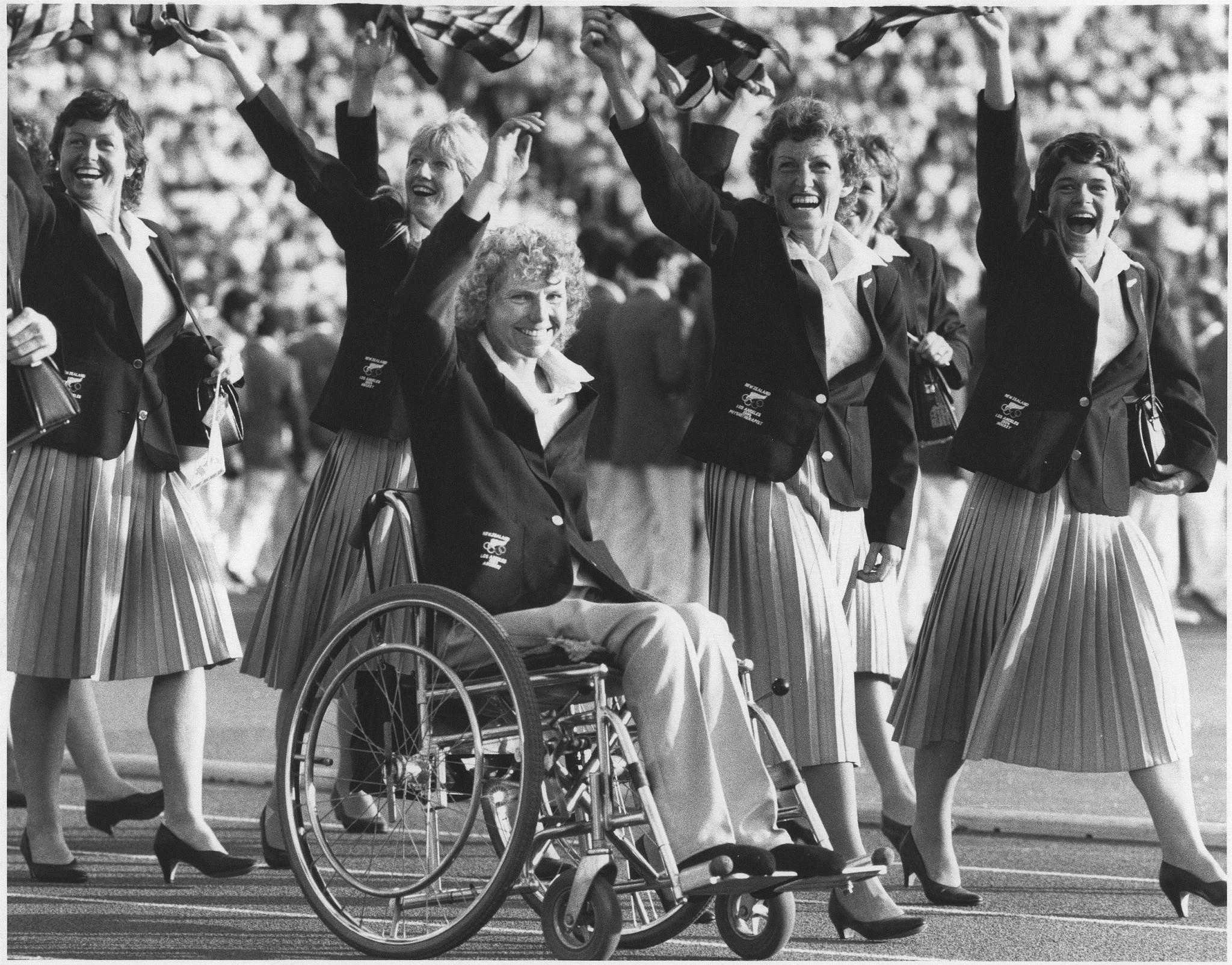 Neroli Fairhall made Commonwealth Games history in archery ©NZOC/PNZ