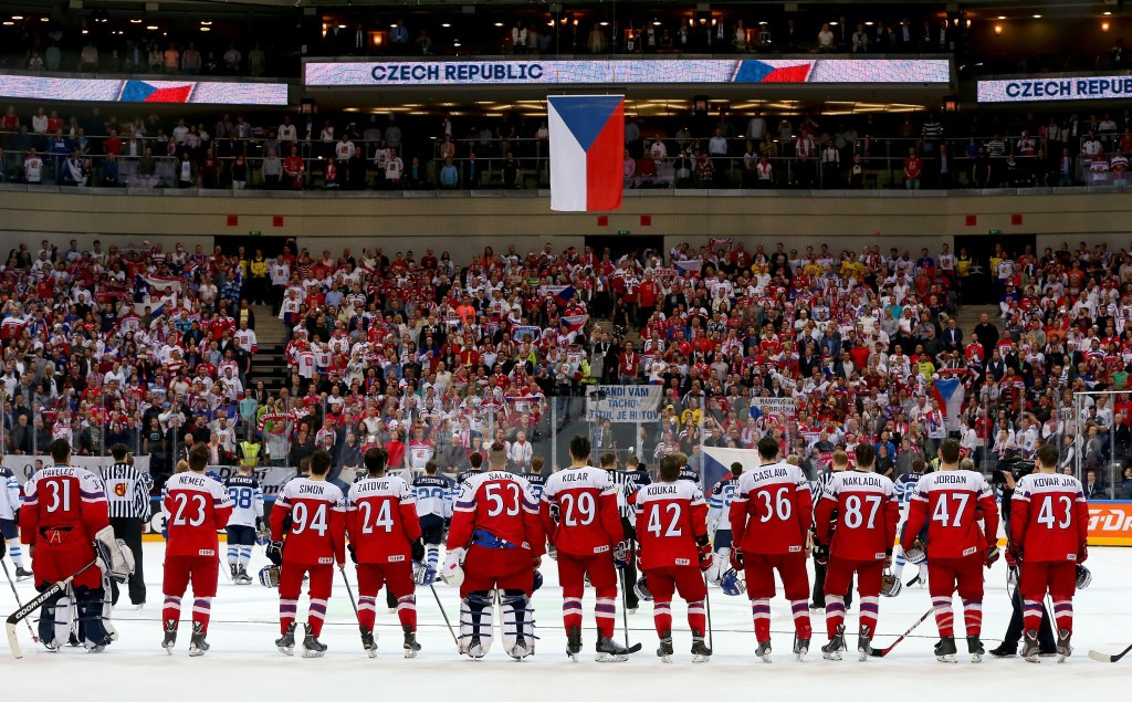 Hosts Czech Republic will play Canada for a place in the Ice Hockey World Championship gold medal game ©Getty Images