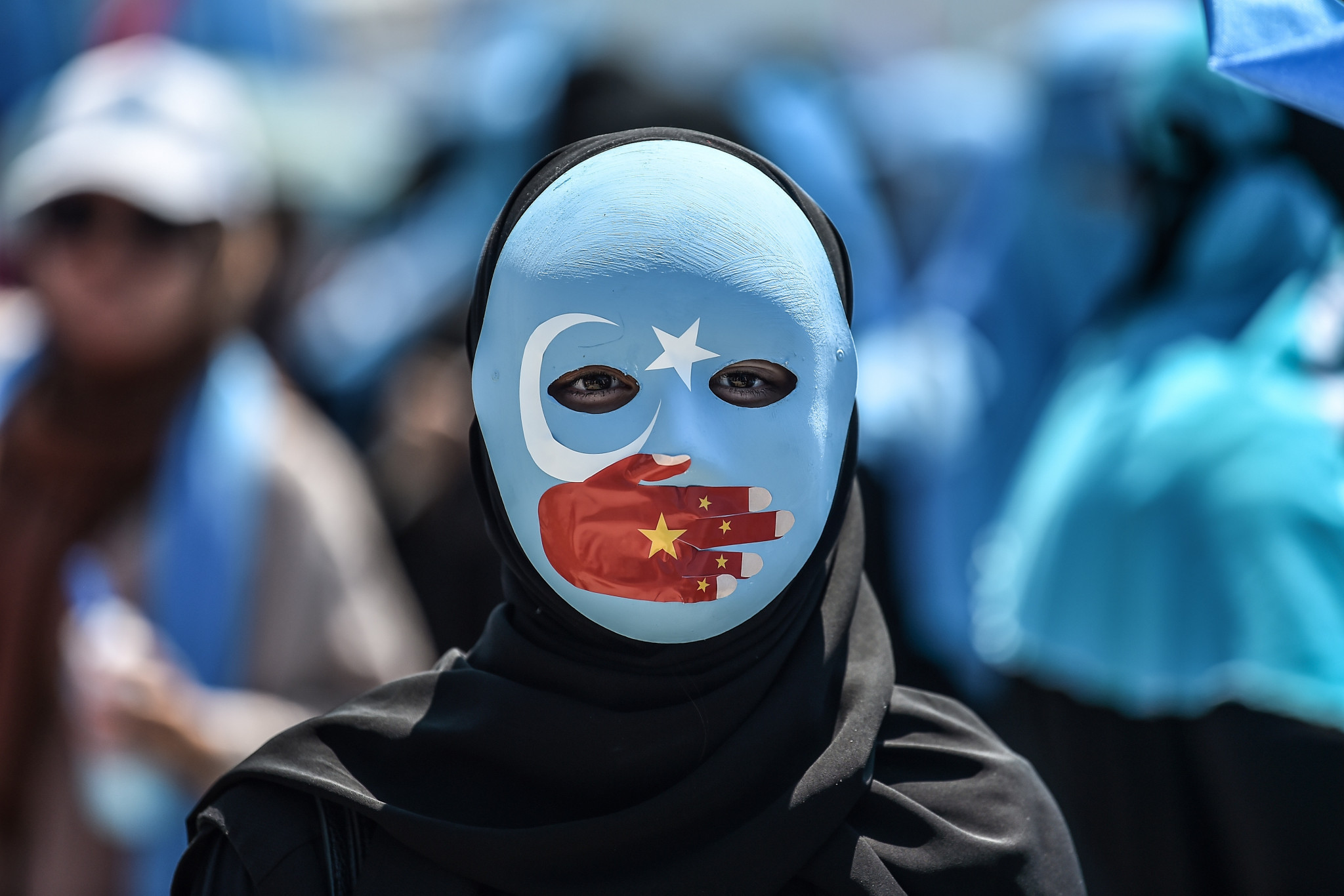 Chinese officials were hot with American, Canadian, British and European Union sanctions this week over the persecution of Uyghur Muslims ©Getty Images