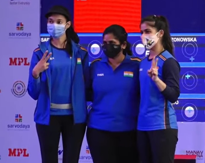 India and Poland win gold medals after back-to-back finals at ISSF World Cup