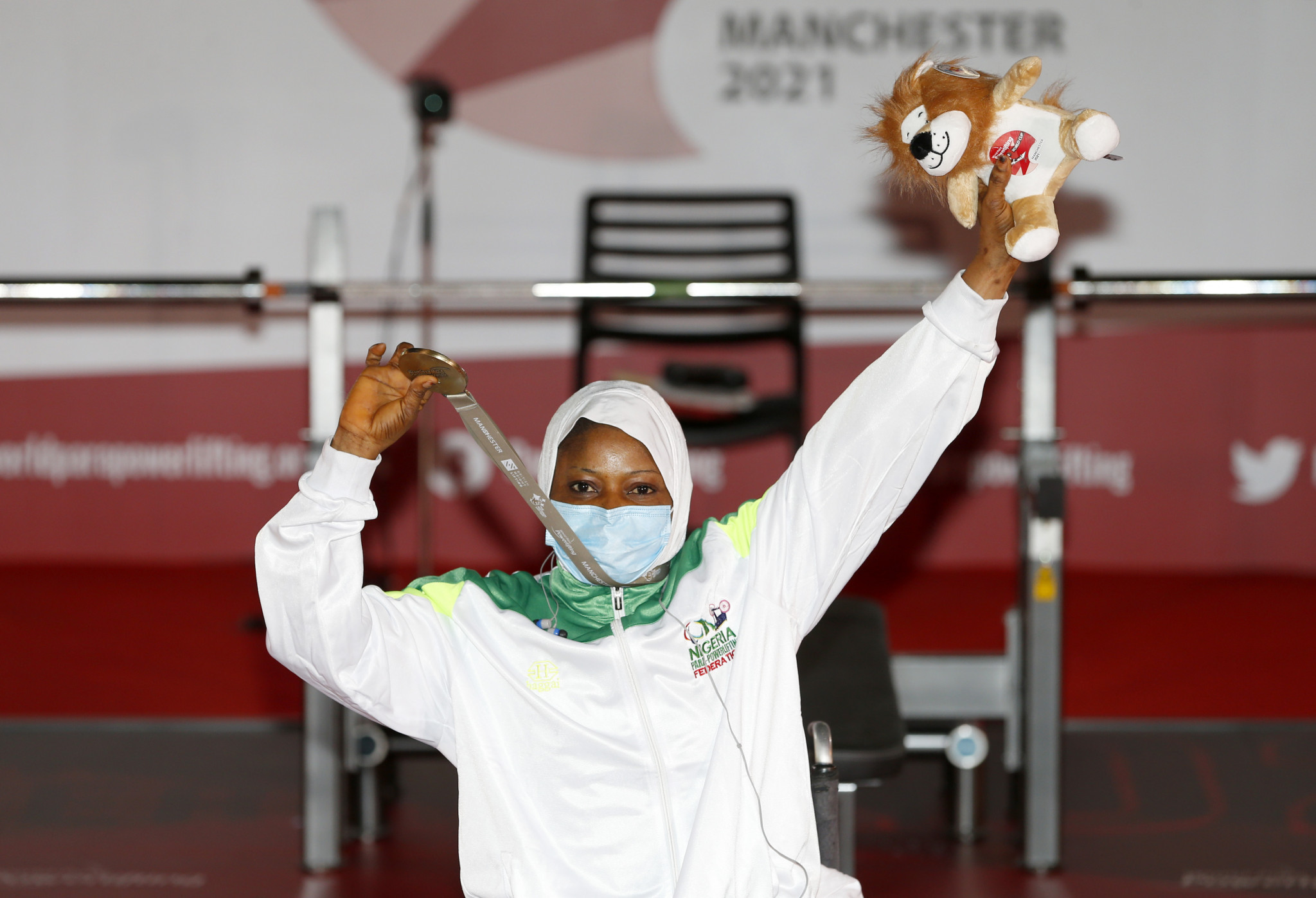 Nigeria start World Para Powerlifting World Cup with three golds in Manchester