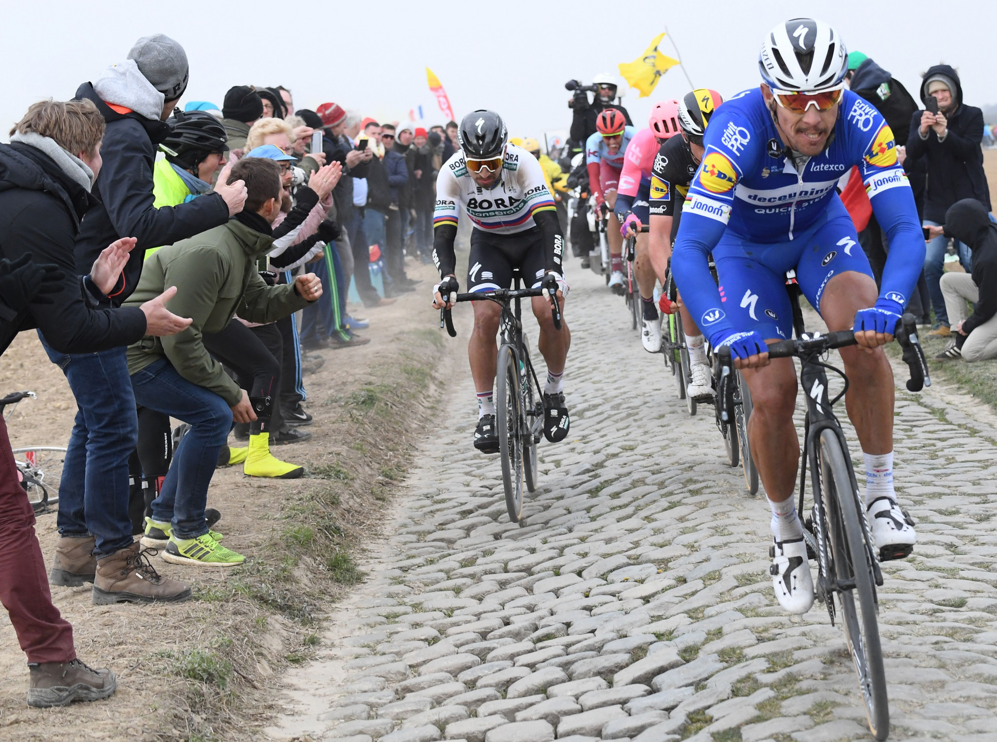 Paris-Roubaix is reportedly in doubt amid COVID-19 restrictions in France ©Getty Images